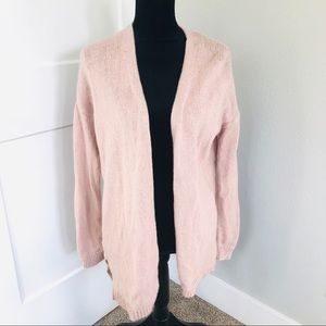 Ann Taylor LOFT wool cardigan sweater open front